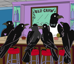 """Old Crow"" Crow Bar by blo0p"