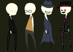 Slender brothers chibi by Foxy2788