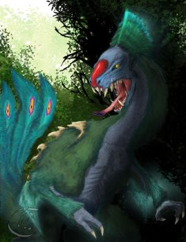 Dragon Series 8 - Jungle Stalker by TheWolverineCello