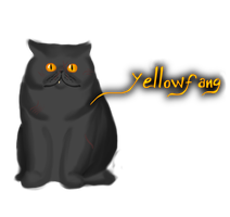 Yellowfang by Warrior-Wolftail