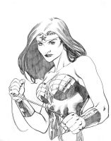 Wonder woman sketch by RobertAtkins