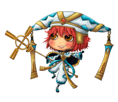 Dot Hack: Mistral Chibi by LaGunn