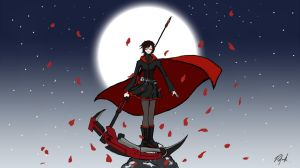 RWBY - Red by patgarci