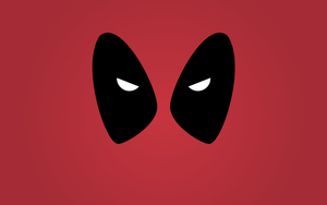 Minimalist Deadpool Wallpaper by irocandrew