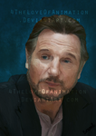 Liam Neeson - Portrait by 4TheLoveOfAnimation