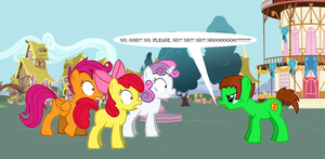 TAFA in MLP - FIM - Percy Has had Enough by LGee14