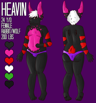 Heavin's Reference by SmileAndLead