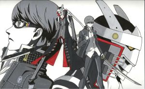 Yu and Izanagi from Persona 4 by XennywithanX