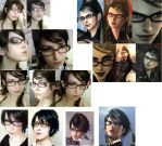 Bayonetta Makup and hair test. by pikminlink