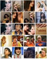 Skins. Season 1 and 2 by Pioi