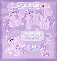 Crystal Rose - ultimate reference guide by LessaNamidairo