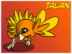 The Red Barn: Talan the Torchic Ref by Cattensu