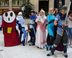 Cosplay Check:Team Brawl by Rhythm-Wily
