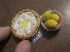 Miniature Lemon Meringue Pie by sonickingscrewdriver