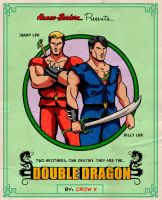 Double Dragon Poster by crowbrandon