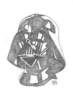 $25 Darth Vader Sketch by Autaux