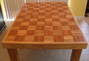 Family-Made Table Refinishing #6 by Hearte42