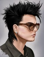 Adam with glasses by Darkness4Lucy