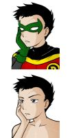DC - Damian by arosyks