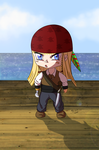The Chibi Pirate by DementedWorld