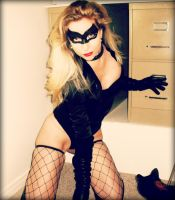 Black Canary Cat-Bombed by CosplayButterfly