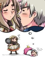 Hetalia : Kiss the AWESOME ME ! by spogunasya