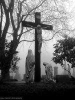 Foggy Calvary Cemetery 2 by worldtravel04