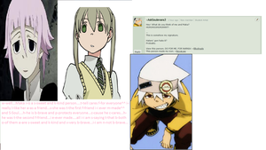 Soul and Maka....question25 by AskCronaAndRagnarok