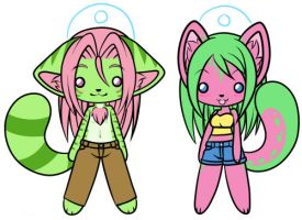Commission - Charms by shiin