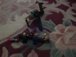 FF Figures-Attack of the Legos by kingdomhearts800