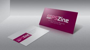 pszine visit card and logo by galagoola