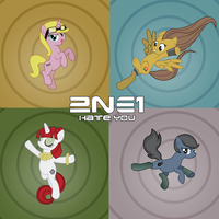 2NE1 ponification by Serginh
