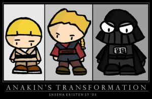Anakin's Transformation by cippow25