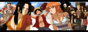 one piece  Share the world by Nishi06