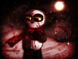 ABC - Red Snow by catkitte