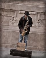 Sax In Chicago by nivaun