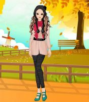 GOLDEN PARK FOR FASHION GIRL by kute89