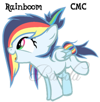 Rainboom - Reference *New Look by iPandacakes