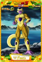 Dragon Ball Z - Golden Freeza by DBCProject