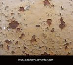 Peeling Paint and Rust by shelldevil