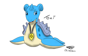 Toni the Sub- Lapras by Threehorn