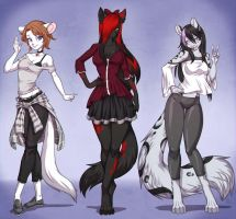Girls by playfurry