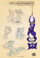 Cat sketch page 9 by celaoxxx