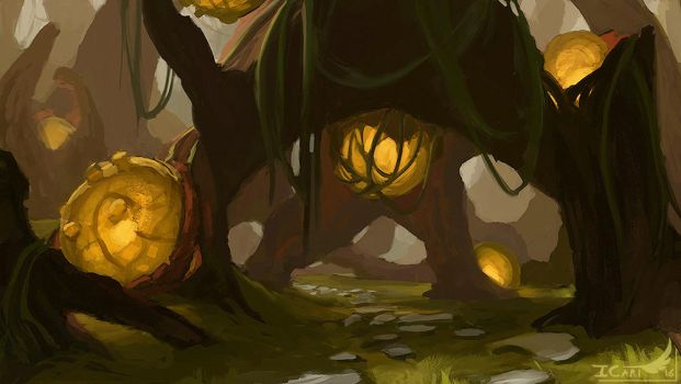 2h10 Speedpainting - Environment by ICart-Paint