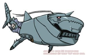 Alphonse the Whale Shark by sparrowstampede
