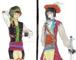 CoM:.:WC18-.:Shiver me Timbers:.:Orion+Soren:.-C by Superdemon-Inuyasha