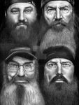 Duck Dynasty - The Quack Pack by Doctor-Pencil