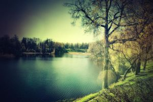 The Lower Pond by caie143