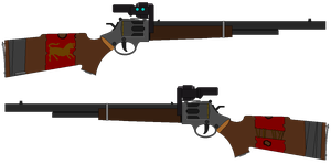 Legion Revolving Carbine by UltimaWeapon13