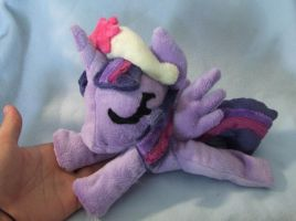 Twilicorn beany filly plush by scilk